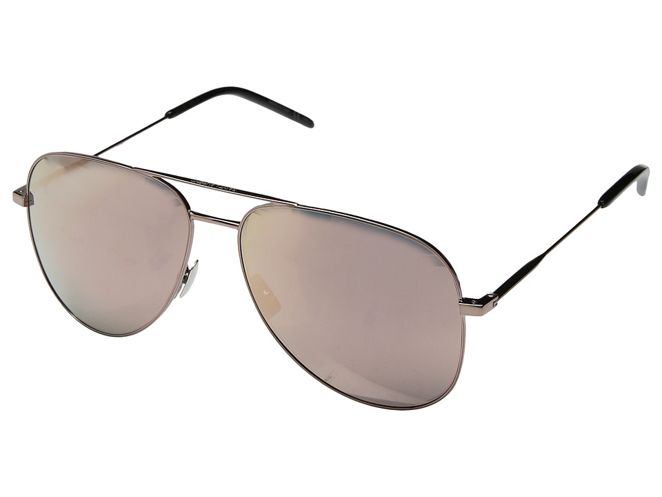 Saint Laurent - Classic 11 (Champagne) Fashion Sunglasses