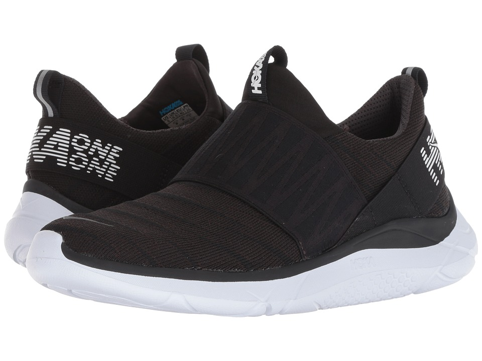 Hoka One One Hupana Slip (Black/White) Women's Running Shoes