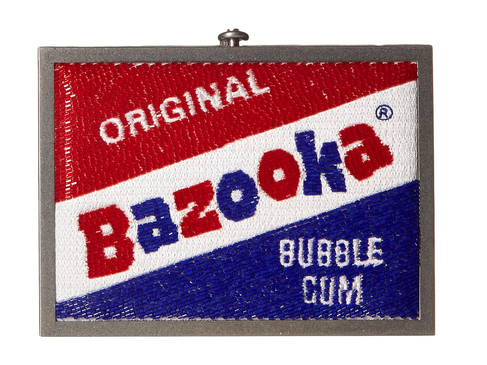 Alice + Olivia - Darla Bazooka Clutch (Multi) Clutch Handbags