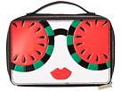 Alice + Olivia Alice + Olivia Ally Stace Face Watermelon Zip Cosmetic Case