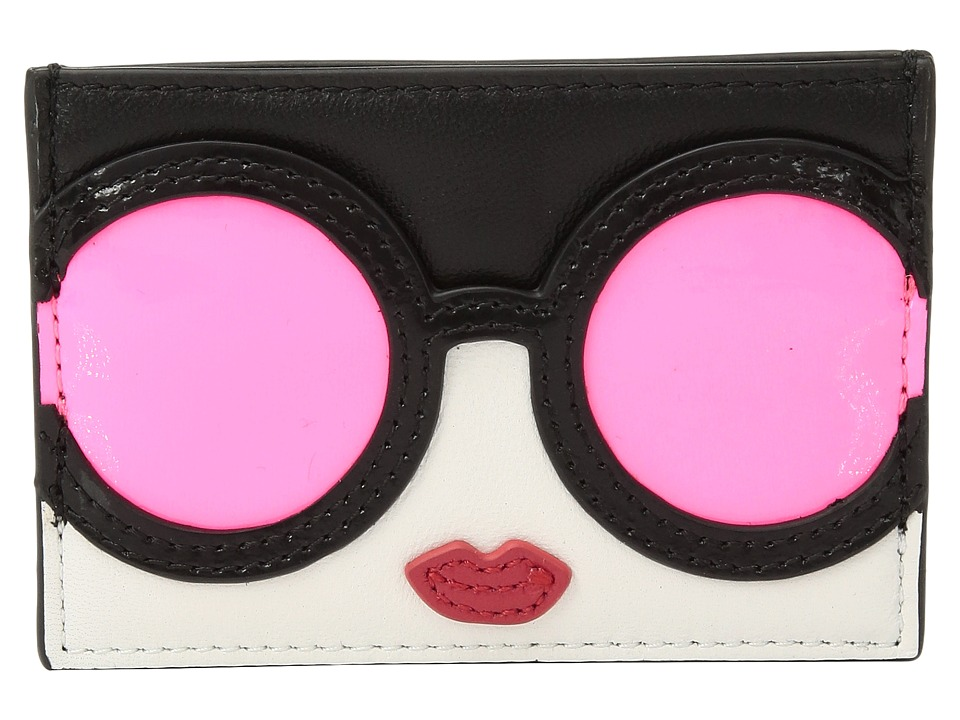 Alice + Olivia - Elle Stace Face Card Case (Neon Coral) Credit card Wallet