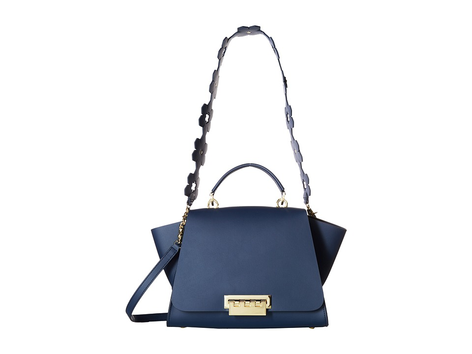 ZAC Zac Posen - Eartha Iconic Soft Top-Handle (Blue 1) Top-handle Handbags