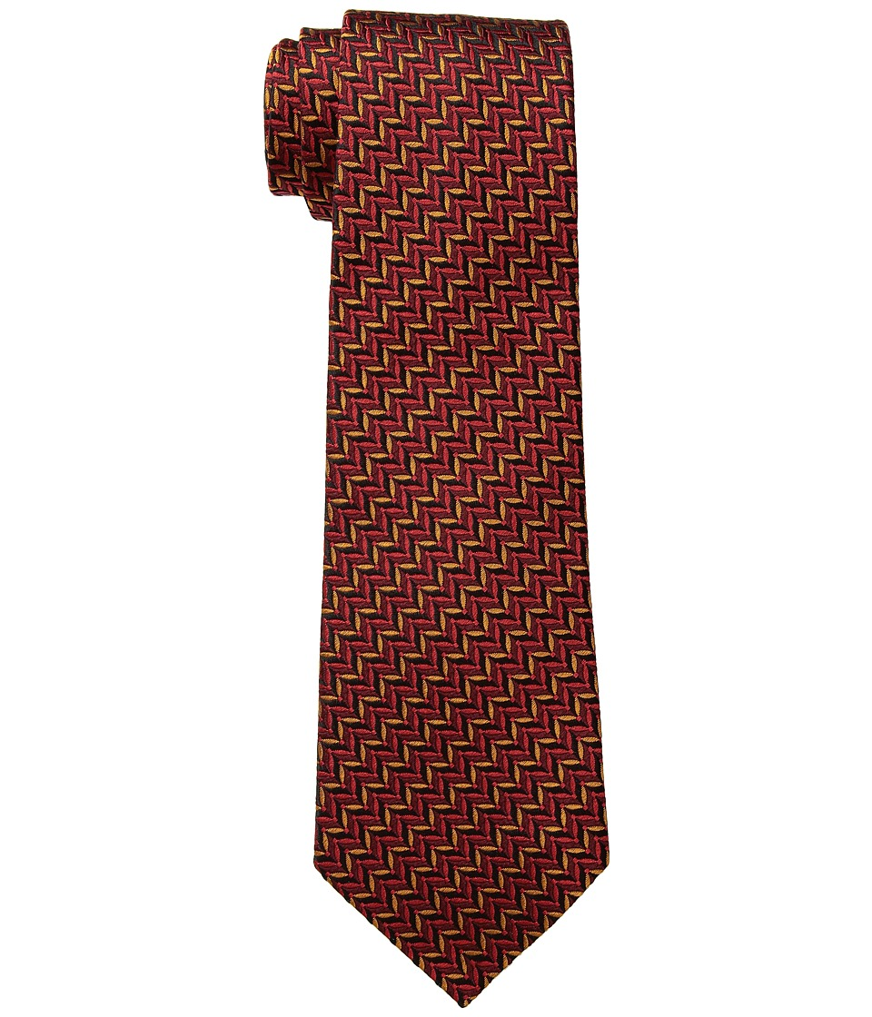 Missoni CR8ASEU64120 (Multi Red/Gold) Ties