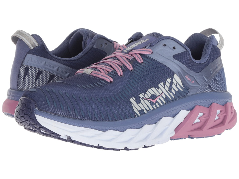 Hoka One One Arahi 2 (Marlin/Blue Ribbon) Women's Running Shoes