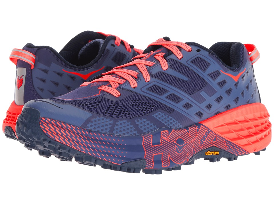 Hoka One One Speedgoat 2 (Marlin/Blue Ribbon) Women's Running Shoes