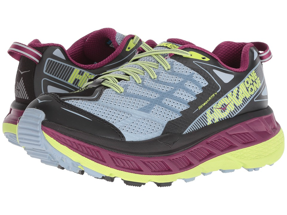 Hoka One One Stinson ATR 4 (Blue Fog/Boysenberry) Women's Running Shoes