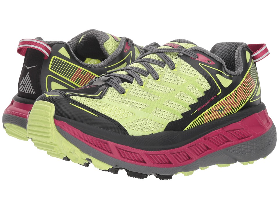 Hoka One One Stinson ATR 4 (Sharp Green/Black) Women's Running Shoes