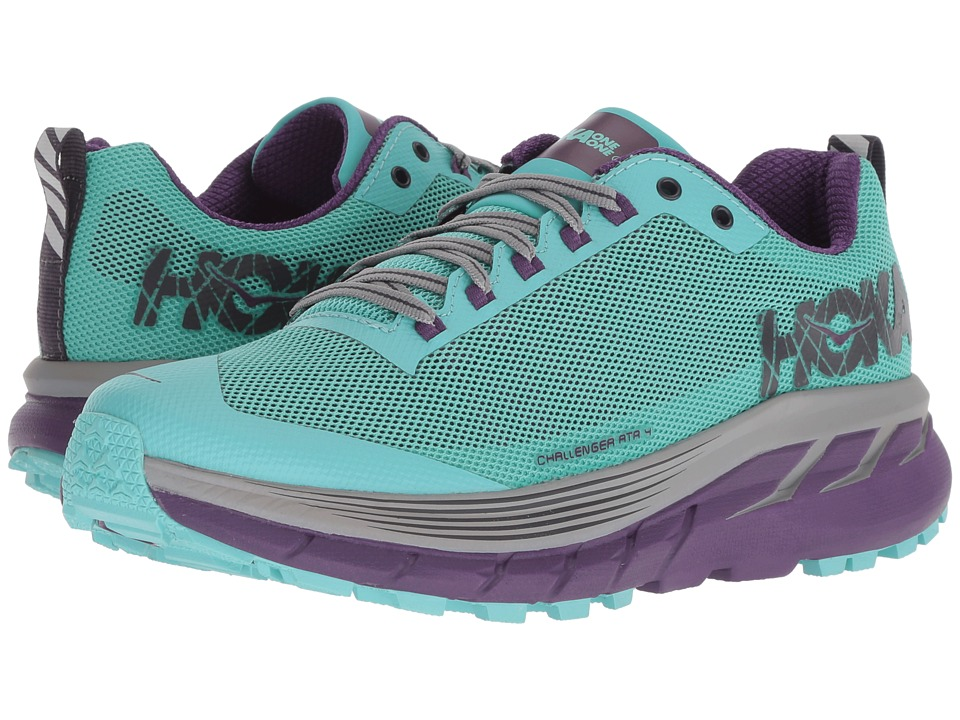 Hoka One One Challenger ATR 4 (Pool Blue/Grape Royale) Women's Running Shoes