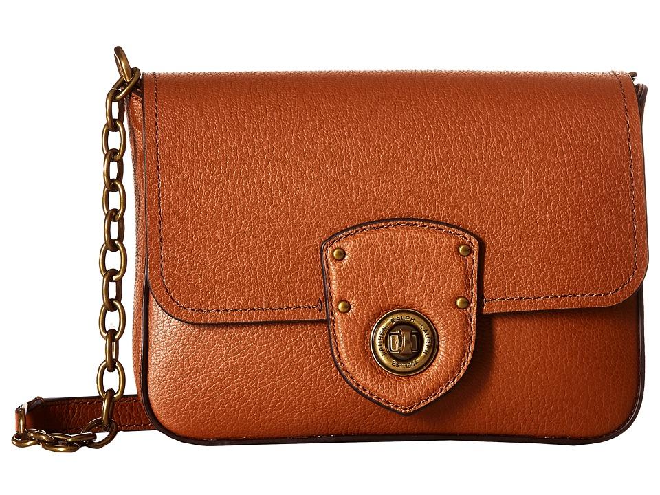 Ralph Lauren Millbrook Belt Bag (Field Brown/Orange) Day Pack Bags srAJTxTg