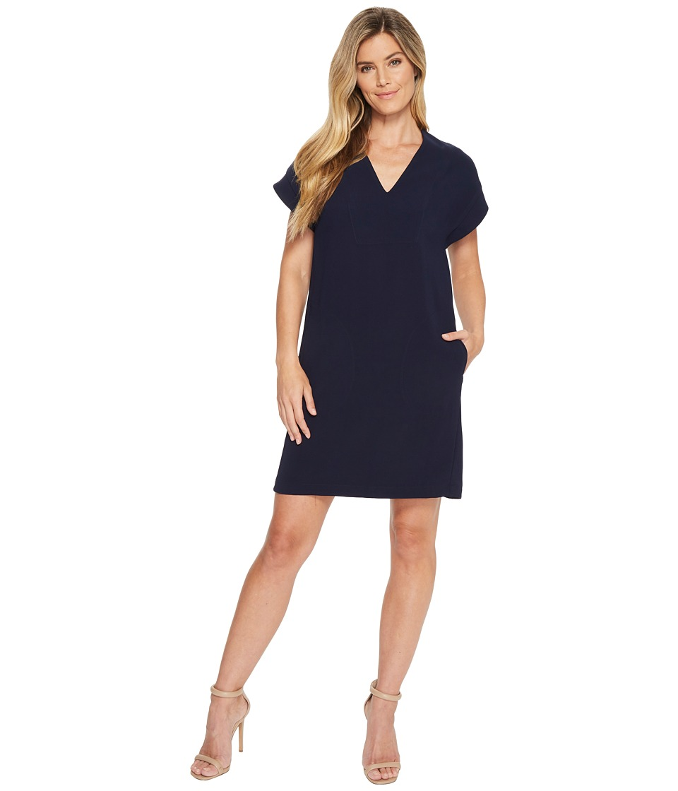 Karen Kane - Sophie Dress (Navy) Womens Dress