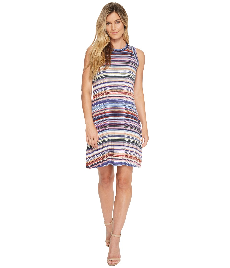 Karen Kane - Newport Stripe Halter Dress