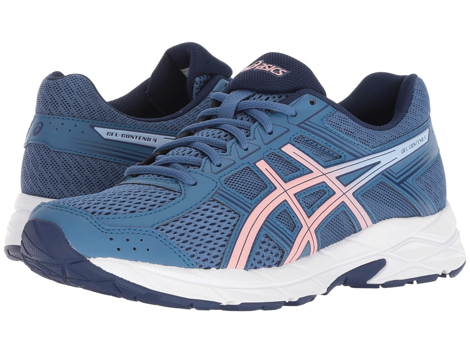 ASICS GEL-Contend 4 (Azure/Frosted Rose) Women's Running Shoes