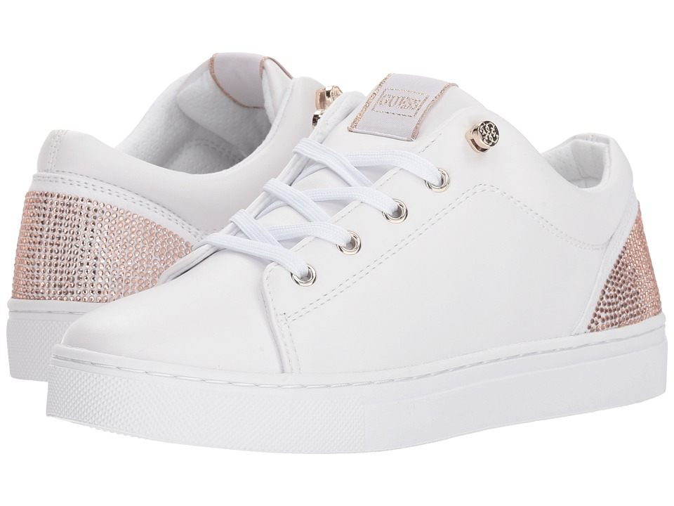 GUESS - Jollie (White Synthetic) Womens Lace up casual Shoes