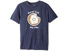 The Original Retro Brand Kids Donut Kill My Vibe Short Sleeve Tri-Blend T-Shirt (Big Kids)