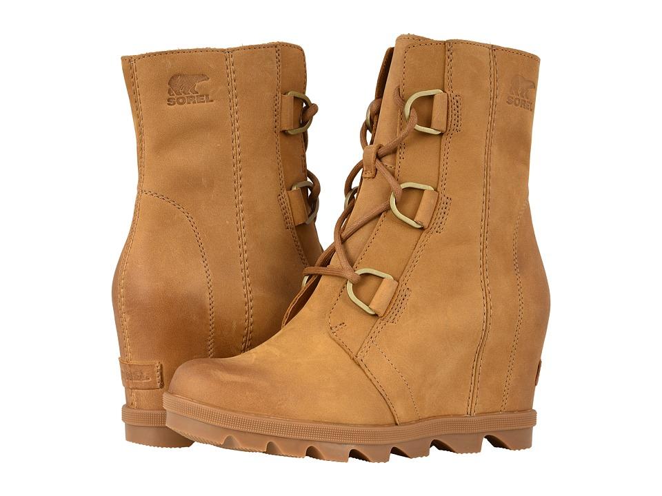 SOREL Joan of Arctic Wedge II (Camel Brown) Women's Waterproof Boots