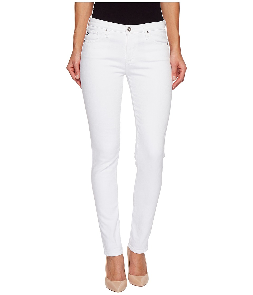 AG Adriano Goldschmied - Prima in White (White) Womens Jeans