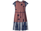 Stella McCartney Kids Marigold Long Tulle Dress w/ Star Patches (Toddler/Little Kids/Big Kids)