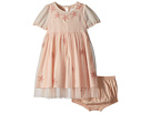 Stella McCartney Kids Maria Star Patched Tulle Dress (Infant)