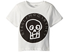Stella McCartney Kids Arrow Short Sleeve Skull T-Shirt w/ Logo Lettering (Toddler/Little Kids/Big Kids)