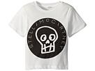 Stella McCartney Kids Stella McCartney Kids Arrow Short Sleeve Skull T-Shirt w/ Logo Lettering (Toddler/Little Kids/Big Kids)