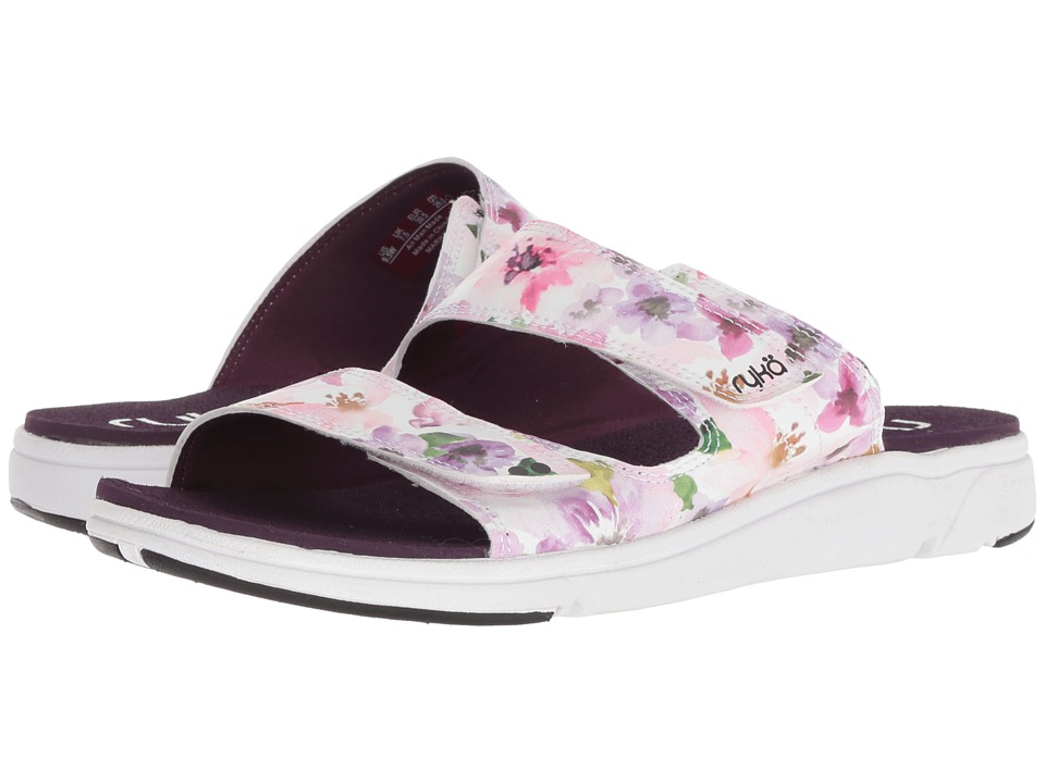 Ryka Marilyn (Italian Plum/White/Black) Women's Shoes