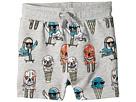Stella McCartney Kids Stella McCartney Kids Ice Cream Monster Print Knit Shorts (Toddler/Little Kids/Big Kids)
