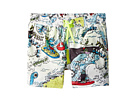 Stella McCartney Kids Taylor Cartoon Print Swim Shorts (Infant)