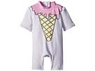Stella McCartney Kids Sonny Ice Cream Print All-In-One Swimsuit (Infant)