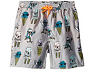Stella McCartney Kids Taylor Ice Cream Monster Print Swim Shorts (Toddler/Little Kids/Big Kids)