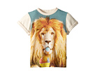 Rock Your Baby Summertime Lion Short Sleeve Tee (Toddler/Little Kids/Big Kids)
