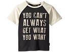 Rock Your Baby You Can't Always Short Sleeve Tee (Toddler/Little Kids/Big Kids)