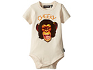 Rock Your Baby Cheeky Monkey Short Sleeve Bodysuit (Infant)