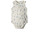Stella McCartney Kids Gizmo Sleeveless Footie w/ Ice Cream Print (Infant)