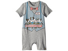 Stella McCartney Kids Kit Ice Cream Print All-In-One Onesie (Infant)