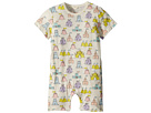 Stella McCartney Kids Kit Sandcastle Printed All-In-One (Infant)