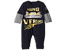 Versace Kids Romper w/ Car Graphic (Infant)