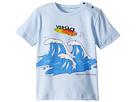 Versace Kids Short Sleeve Wave Graphic T-Shirt (Infant/Toddler)