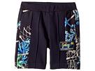 Versace Kids Shorts w/ Sea Shore Design on Sides (Toddler/Little Kids)
