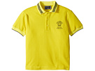 Versace Kids Short Sleeve Polo with Logo (Toddler/Little Kids)
