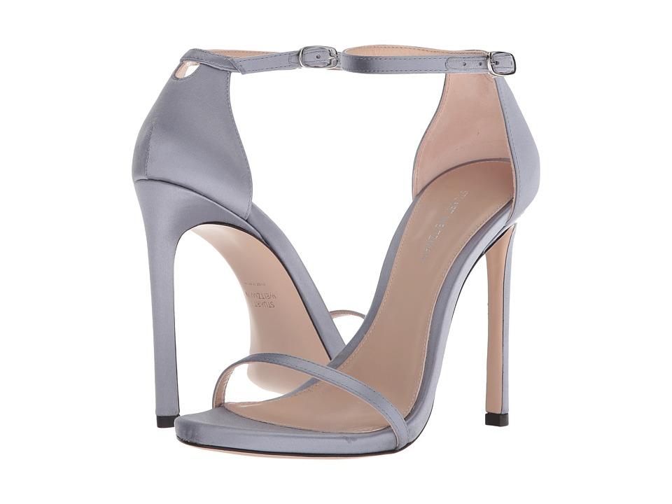 Stuart Weitzman 115nudisttraditional (Powder Blue Silk Satin) Women's Shoes