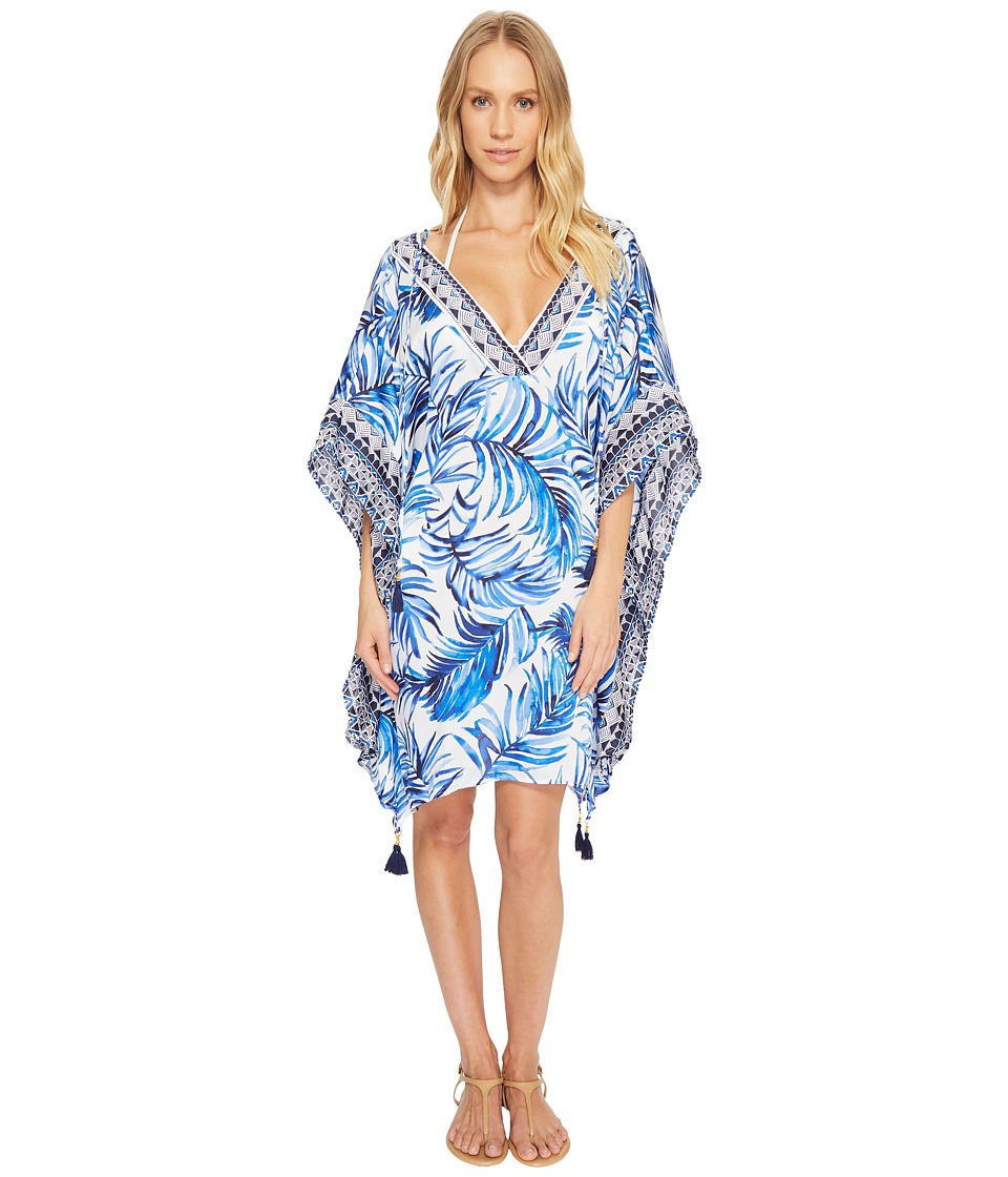 Tommy Bahama Fuller Fronds V-Neck Tunic Cover-Up TSW20673C-100