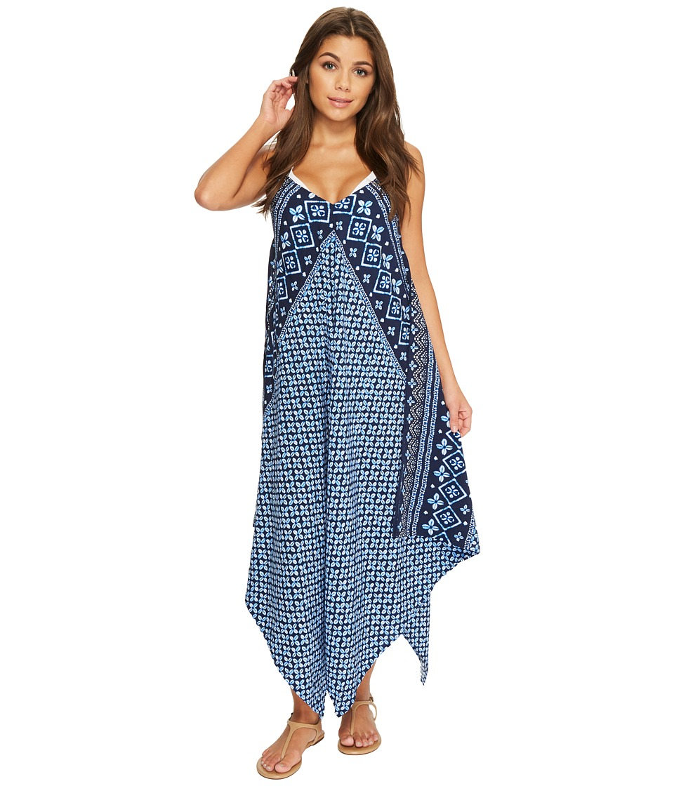 Tommy Bahama Indigo Cowrie Scarf Dress Cover-Up TSW20260C-400