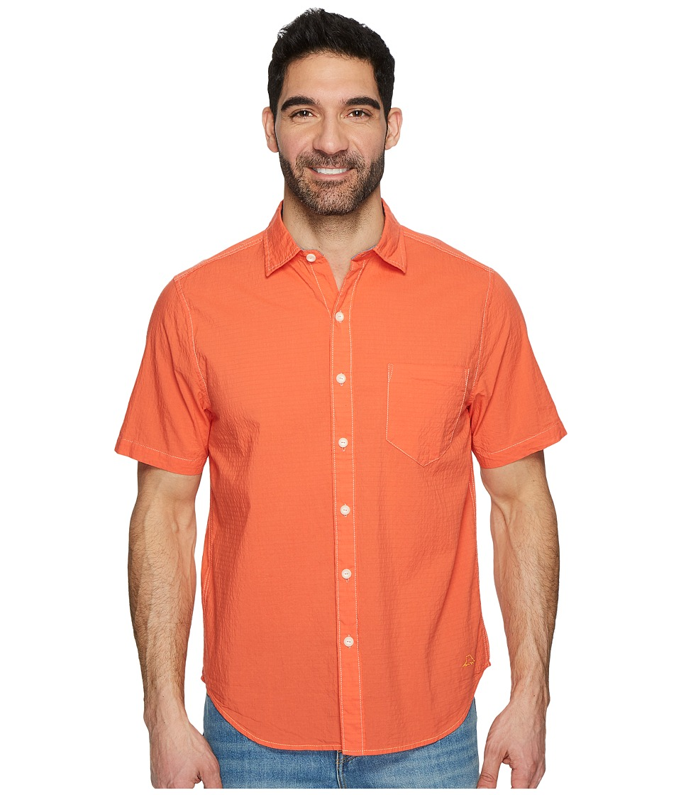 Tommy Bahama - The Salvatore Camp Shirt (Burnt Coral) Mens Clothing
