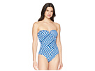 Tommy Bahama Full Fronds V Wire One-Piece