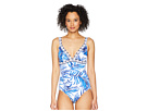 Tommy Bahama Fuller Fronds One-Piece Swimsuit