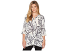 NIC+ZOE NIC+ZOE Etched Leaves Top