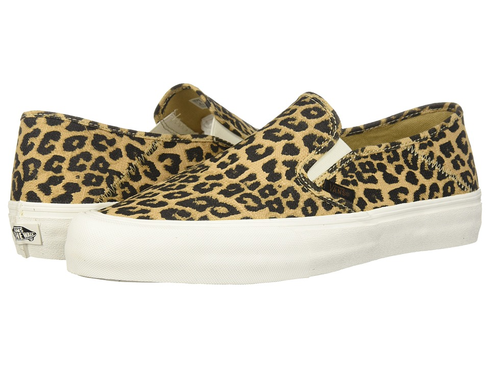 Vans Slip-On SF ((Hemp) Leopard '18) Skate Shoes