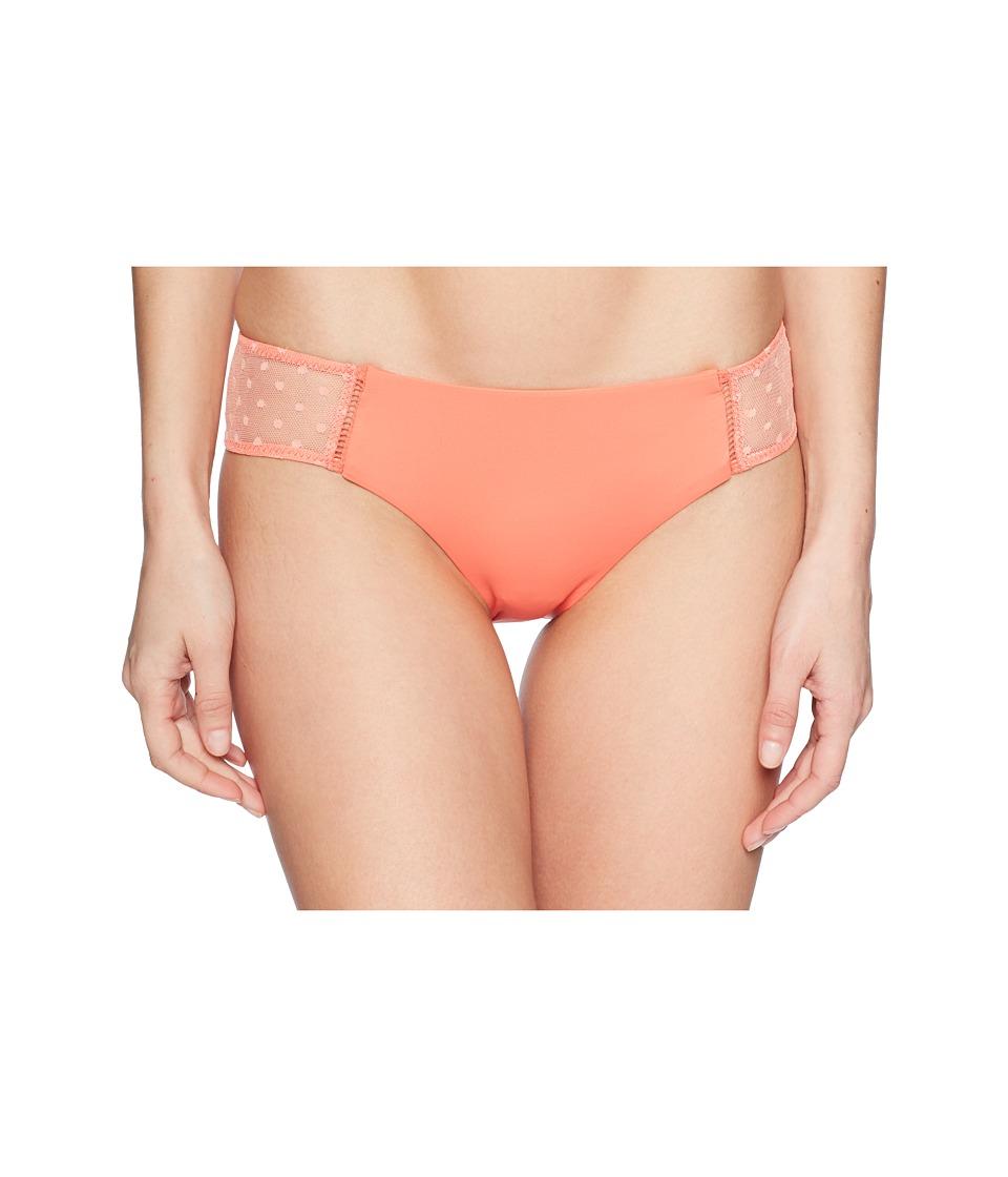 Isabella Rose - Swiss Miss Maui Bottoms (Persimmon) Womens Swimwear