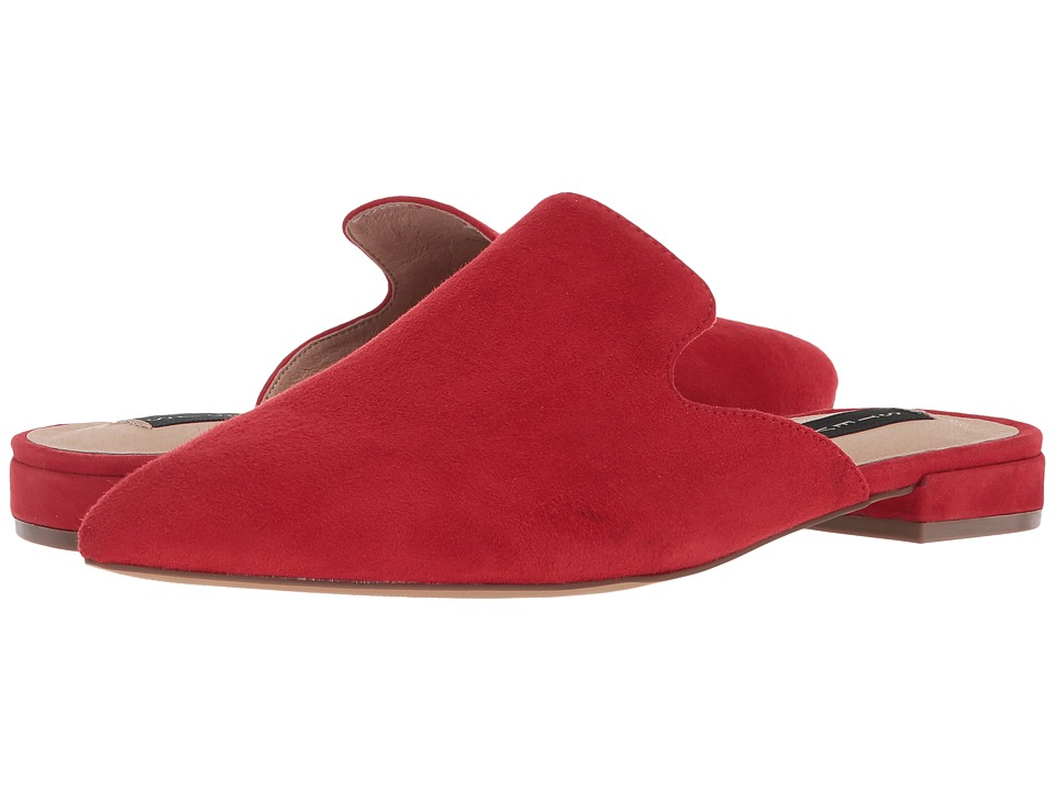 Steven - Valent Mule (Red Suede) Womens Shoes