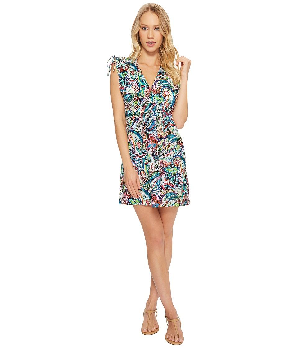 LAUREN Ralph Lauren Cabana Paisley Farrah Dress Cover-Up LR8FP31-960